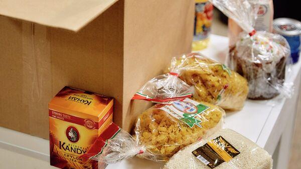 Доставка продуктовых наборов для нуждающихся