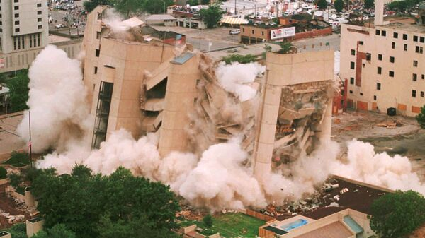 Теракт перед федеральным зданием имени Альфреда Мюррея в Оклахома-Сити 19 апреля 1995 года