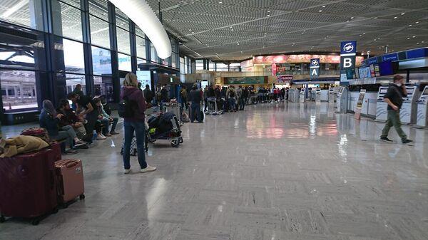 Регистрация пассажиров на вывозной рейс Токио-Владивосток