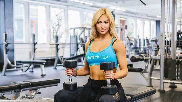 Фитнес-модель Екатерина Лаптева