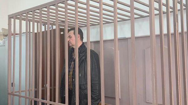 Бывший руководитель компании Авиасити Сергей Коноплев в суде. 22 апреля 2020