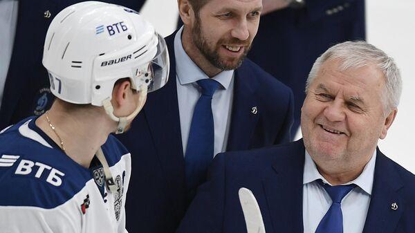 Вадим Шипачев и Владимир Крикунов (справа)