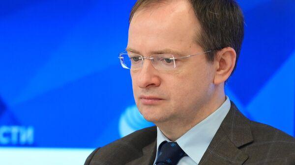 Помощник президента Российской Федерации, председатель Российского военно-исторического общества (РВИО) Владимир Мединский
