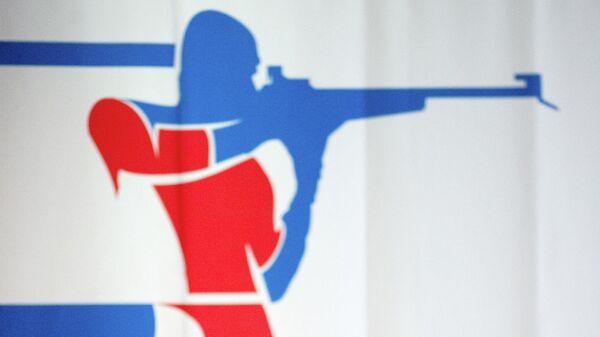 Эмблема Союза биатлонистов России