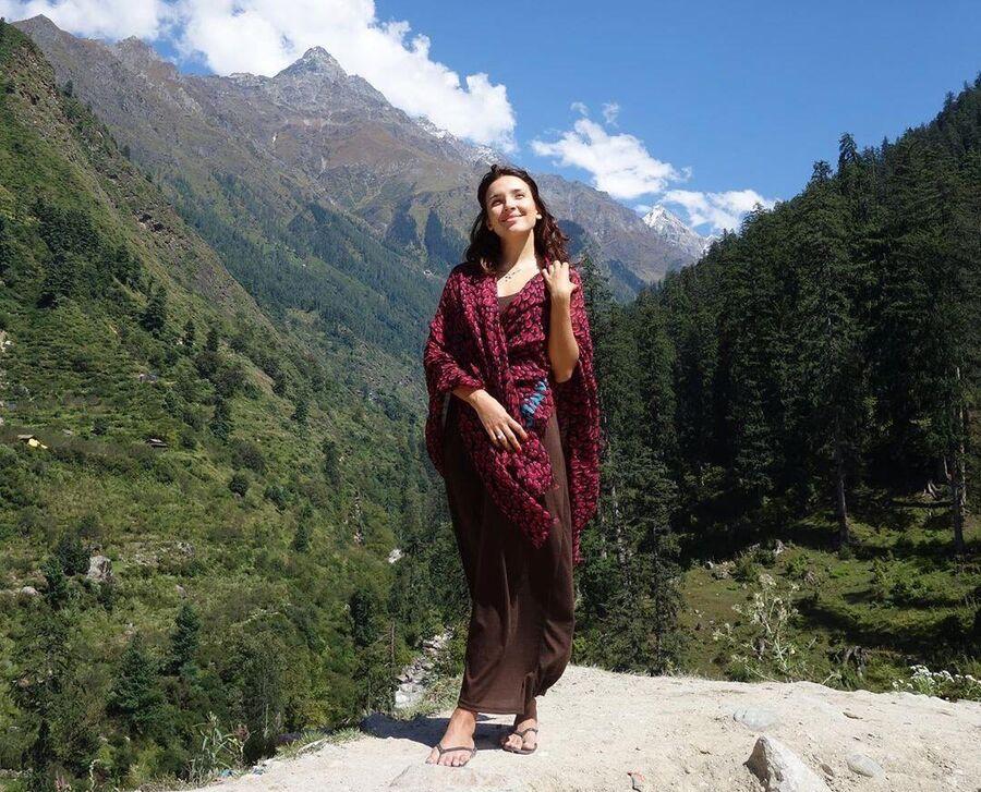 Ольга Дибцева в Гималаях