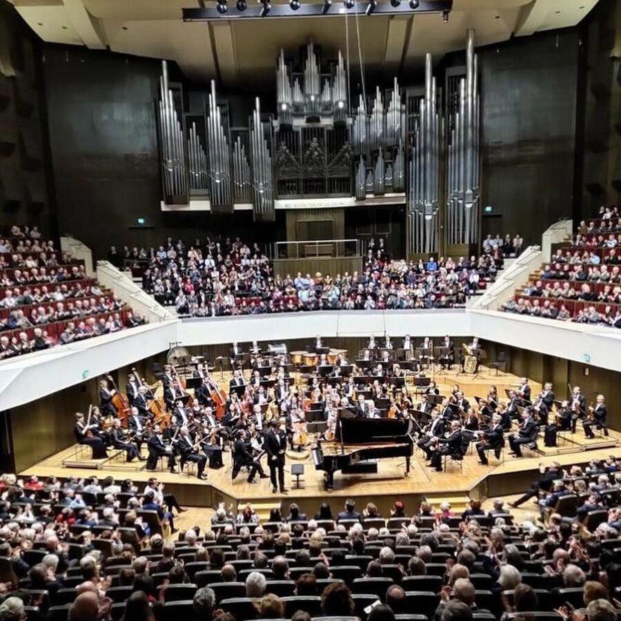 В Лейпциге. Денис Мацуев и Гевандхаус оркестр под управлением Михаила Юровского