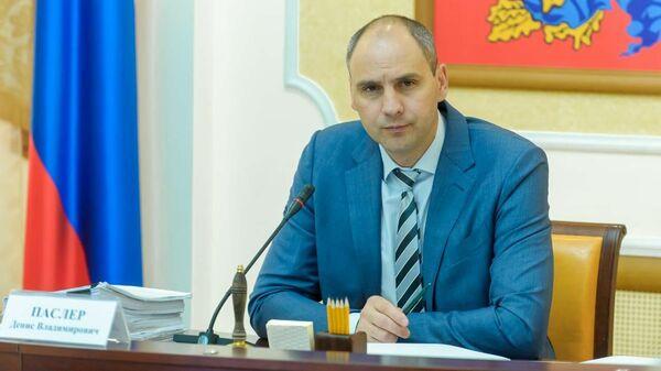 Губернатор Оренбургской области Денис Паслер
