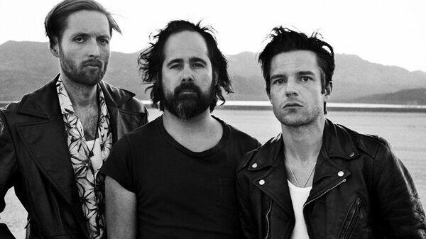 Участники американской альтернативной рок-группы The Killers