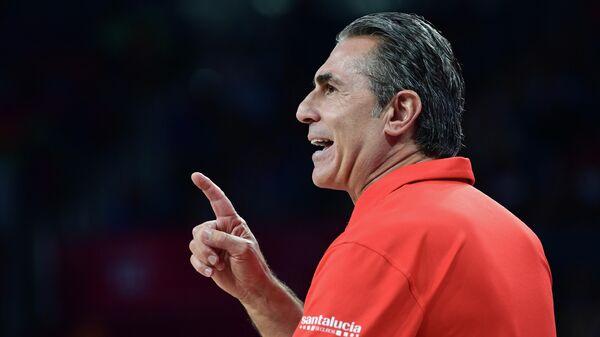 Главный тренер сборной Испании по баскетболу Серджио Скариоло
