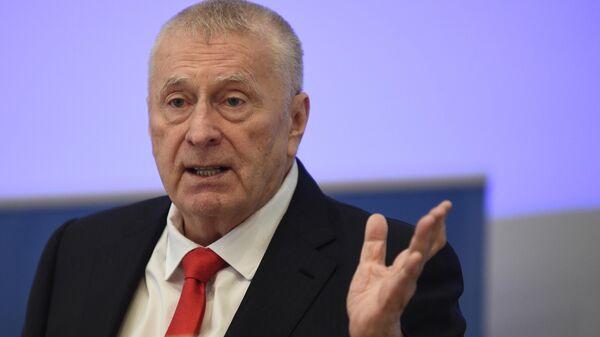 Руководитель Высшего совета ЛДПР Владимир Жириновский
