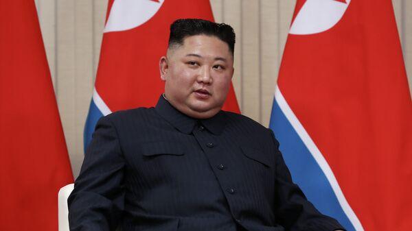 Председатель Госсовета Корейской Народно-Демократической Республики Ким Чен Ын
