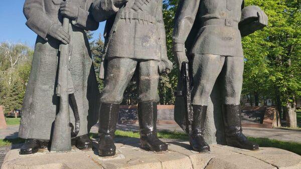 Мемориальный комплекс Славы в украинской Виннице
