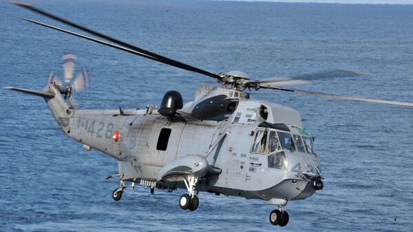 Канадский вертолет Sikorsky CH-124 Sea King