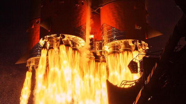 Пуск ракеты-носителя Союз-2.1а с ТГК Прогресс МС-14