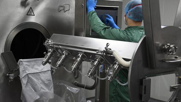 Производство противовирусного препарата для лечения COVID-19 Фавипиравир на производственных мощностях предприятия группы компаний ХимРар