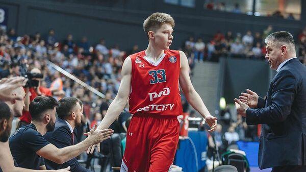 Защитник баскетбольного клуба Локомотив-Кубань Захар Ведищев