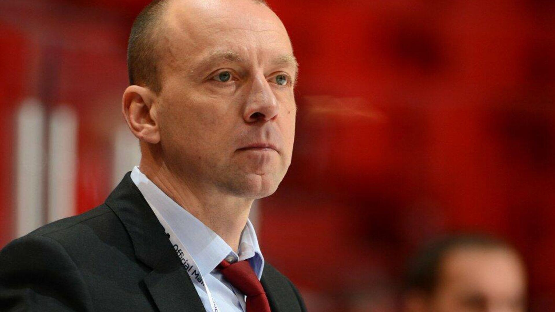 Главный тренер хоккейного клуба Локомотив Андрей Скабелка - РИА Новости, 1920, 26.02.2021