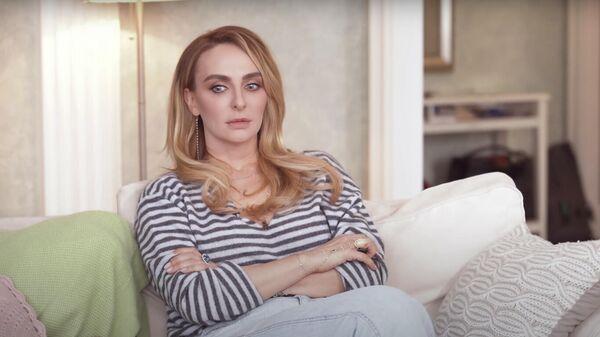 Скриншот интервью Ксении Собчак с Екатериной Варнавой