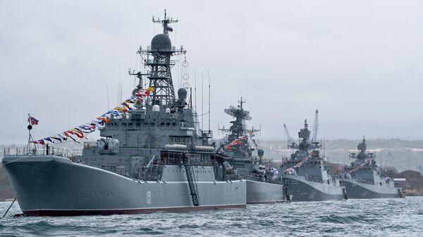 Корабли Черноморского флота ВМФ России