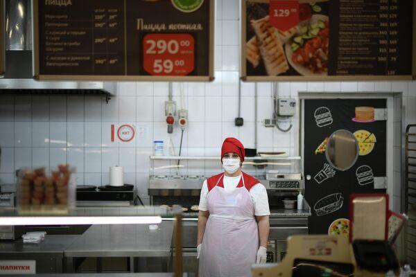 Гаяне Айрапетян - повар кулинарии торговой сети АШАН