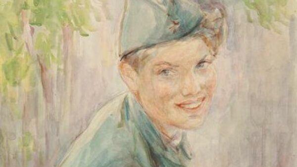 Рисунок проекта Неизвестный солдат