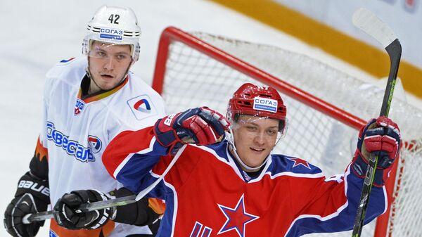 Илья Хохлов (слева) и Андрей Светлаков. Архивное фото
