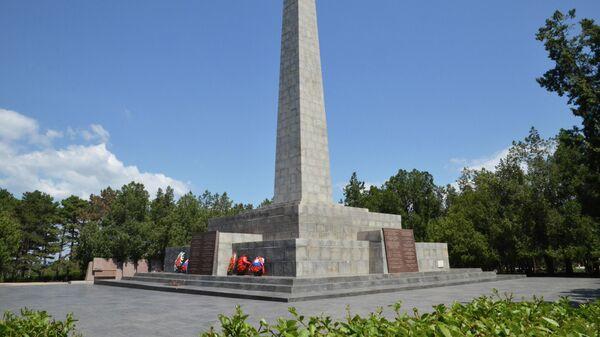 Обелиск Славы героям битвы за Севастополь на Сапун-горе