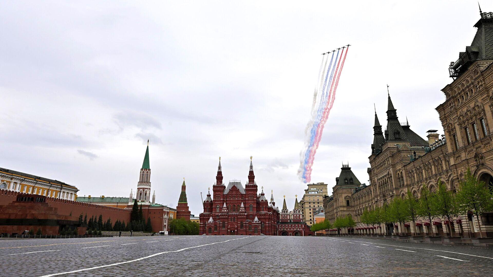 Воздушный парад Победы в Москве - РИА Новости, 1920, 07.05.2021