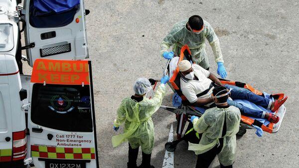Медицинский персонал в Сингапуре