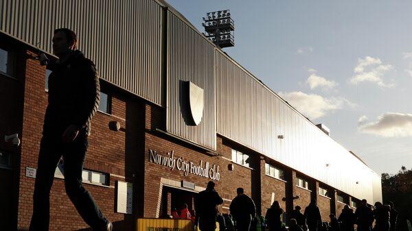 Домашний стадион футбольного клуба Норвич Сити Кэрроу Роуд