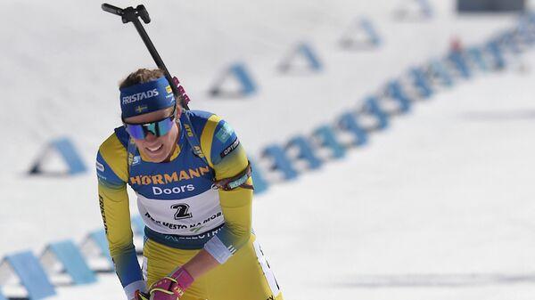 Шведская лыжница Йенни Эберг