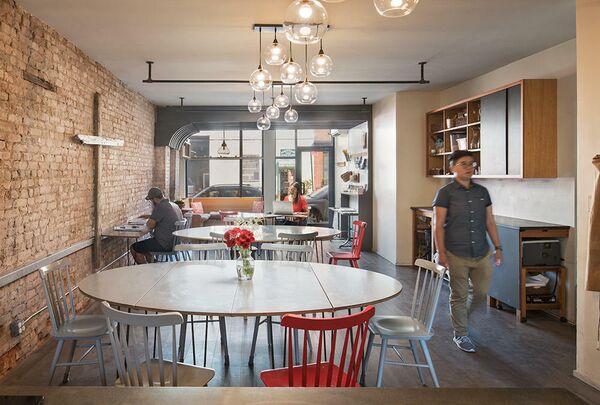 Обеденная церковь Св. Лидии. Бруклин, США. Sheryl Jordan Architect, номинация Liturgical/Interior Design