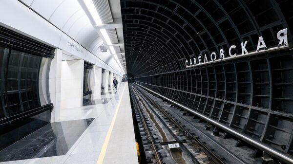 Станция Савеловская Большой кольцевой линии метро