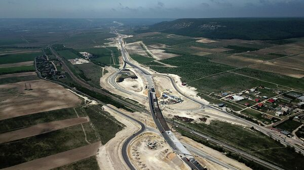 Строительство трассы