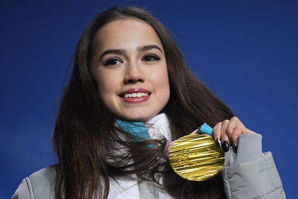 Олимпиада 2018. Церемония награждения. Четырнадцатый день