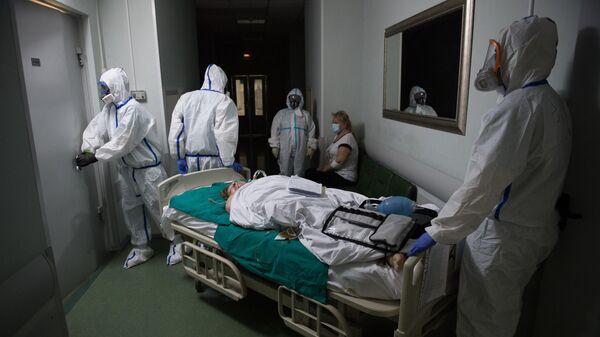 Госпиталь COVID-19 в ГКБ №1 им. Н.И. Пирогова