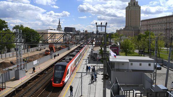 Реконструкция участка МЦД-2 от ст. Каланчевская до Курского вокзала