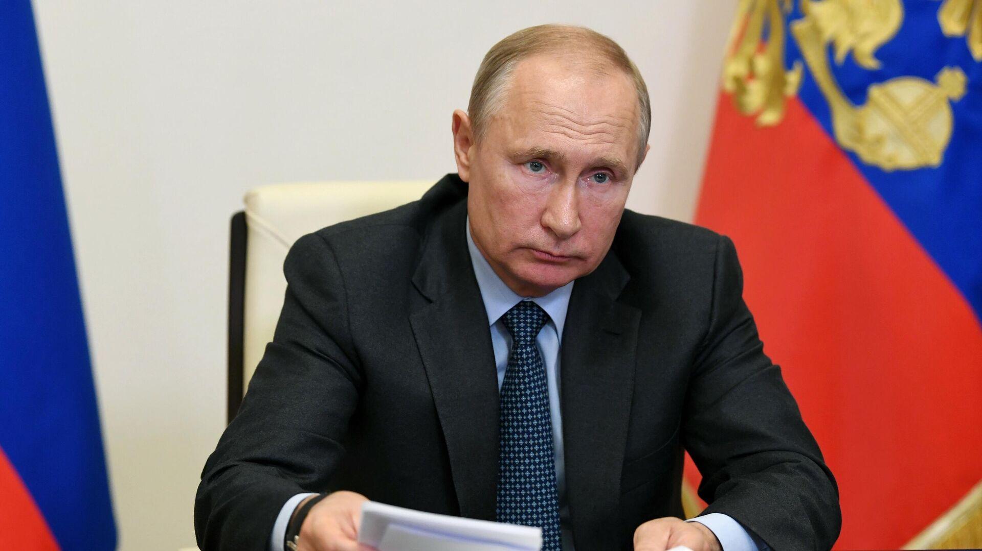 Президент РФ Владимир Путин - РИА Новости, 1920, 18.06.2020
