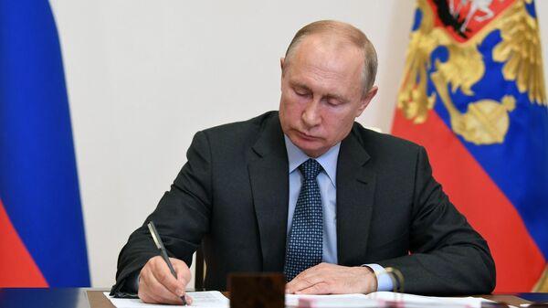 Путин проведет совещание по паводкам и природным пожарам в регионах