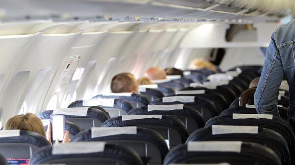 Борт самолета авиакомпании Air Serbia