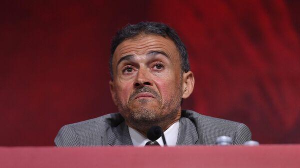 Бывший главный тренер сборной Испании по футболу Луис Энрике