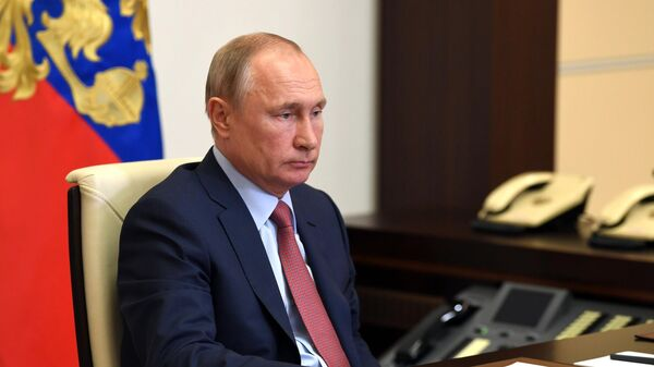 Путин проводит встречу с главой Кубани