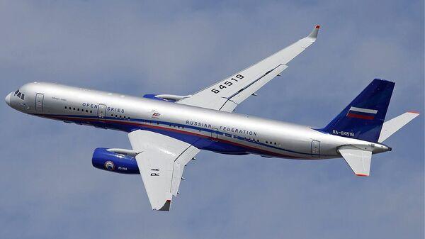 Самолет наблюдения Ту-214ОН