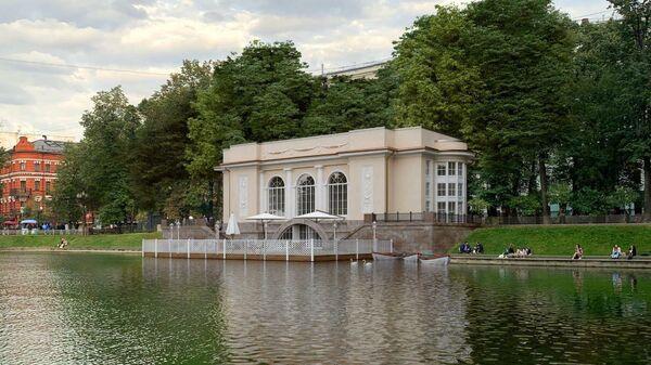 Будущий облик павильона на Патриарших прудах в Москве