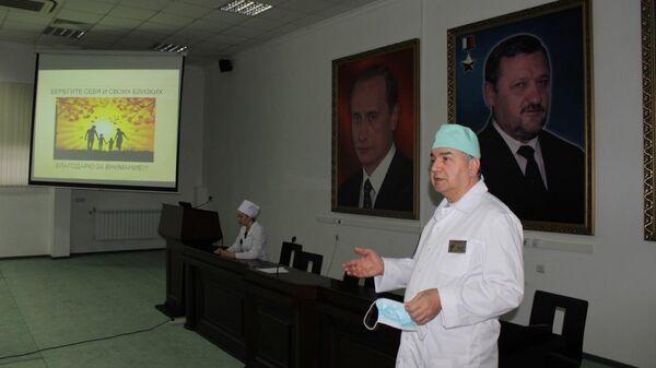 Заместитель главного врача республиканской клинической больницы имени Ш. Эпендиева Соип Солсаев
