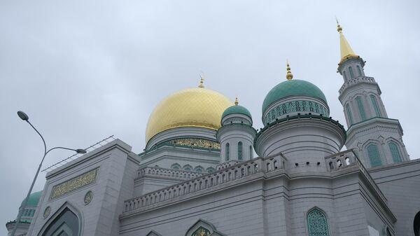 Празднование Ураза-байрама в Московской соборной мечети