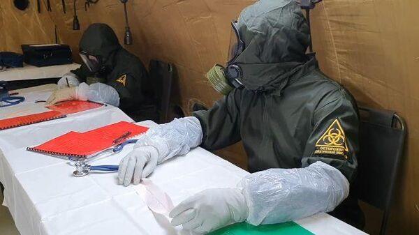 Полевой госпиталь в дагестанском Буйнакске начал принимать пациентов