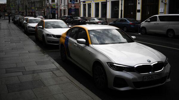 Автомобили сервиса Яндекс.Драйв в Москве