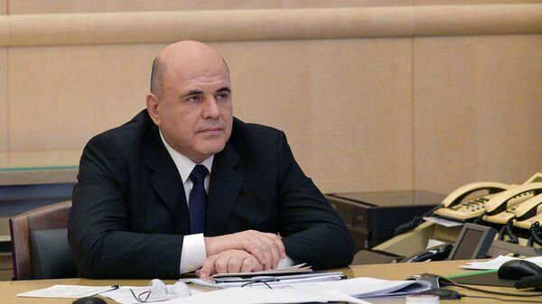 Председатель правительства РФ Михаил Мишустин совещание о мерах по поддержке строительной отрасли и жилищно-коммунального хозяйства