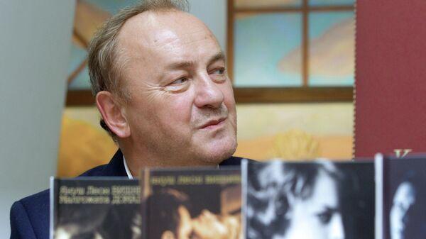 Польский писатель Януш Вишневский